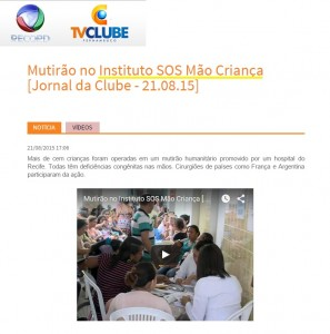 SOS Mão - TVClube - 21.08
