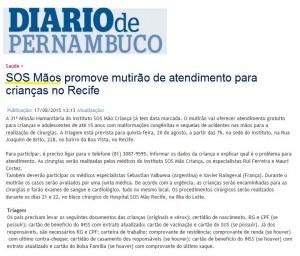 SOS Mãos - DP - 17.08